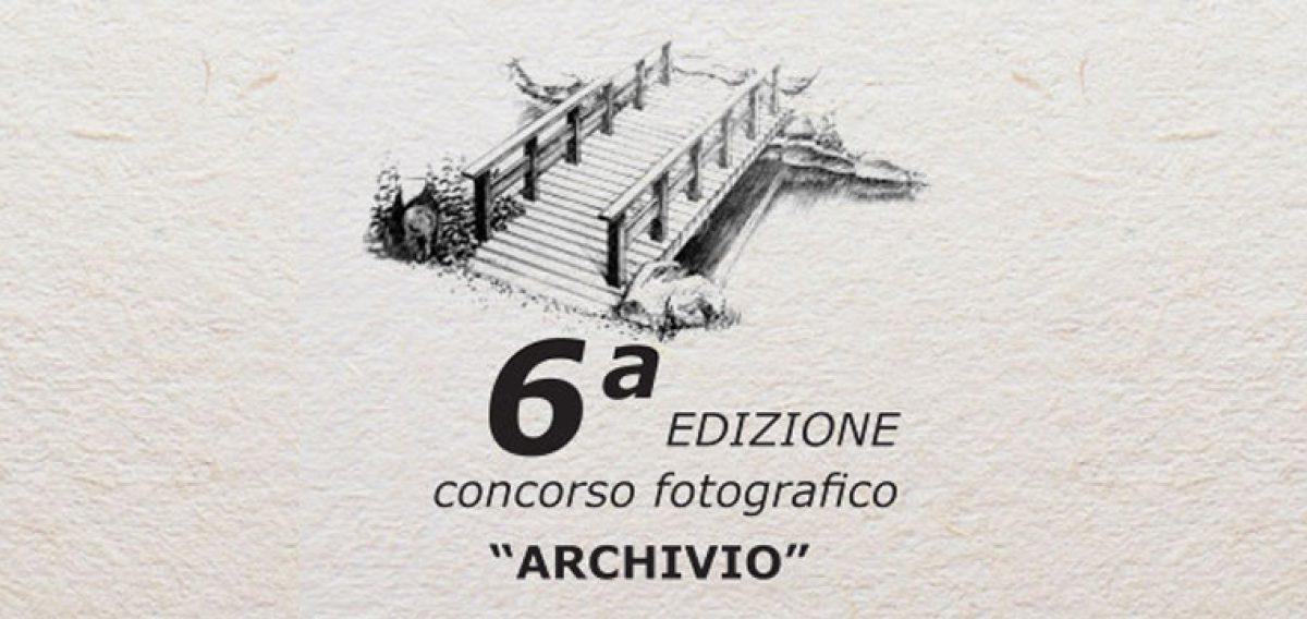 """SESTA EDIZIONE CONCORSO FOTOGRAFICO """"ARCHIVIO""""-PONTI DI CONTATTO"""